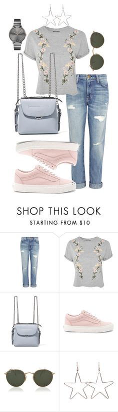 """""""get the look 2"""" by ichaermayani on Polyvore featuring Current/Elliott, Topshop, Fendi, Vans, Ray-Ban, Rebecca Minkoff and polyvorefashion"""