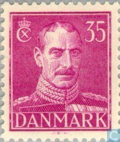 Denmark - King Christian X 1944