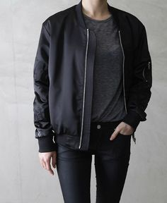 $12.89 Black bomber jacket.