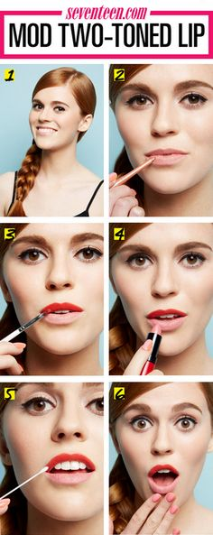 How To: Mod Two Toned Lip