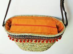 market straw bag shopping bag beach straw bag summer by JIAKUMA