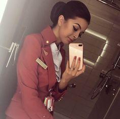 【イギリス】ヴァージン・アトランティック航空 客室乗務員 / Virgin Atlantic Airways cabin crew【UK】 Grace Perry, Photo And Video, Instagram