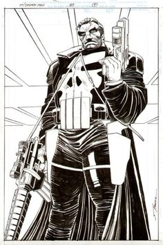 Punisher, by Romita Jr.
