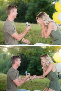 """""""Hunter put me in a plane, made it a photoshoot so he knew i would be fully ready for the day and had his cousin take me to get my nails done the day before. It could not have been more perfect."""""""