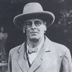 W.B. Yeats, one of our greatest poets