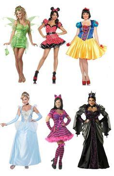 Plus size sexy Disney costume ideas for Halloween Halloween 2015, Halloween Dress, Halloween Makeup, Halloween Costumes, Sexy Disney Costumes, Costumes For Women, Plus Size Websites, Plus Size Halloween, Professional Dresses