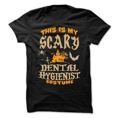 Halloween Tshirt For Dental Hygienist