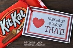 ha ha ha!  Kit-Kat Love Note