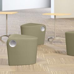 AllSteel's Scooch seating available in different colors and textures through My Office Products!