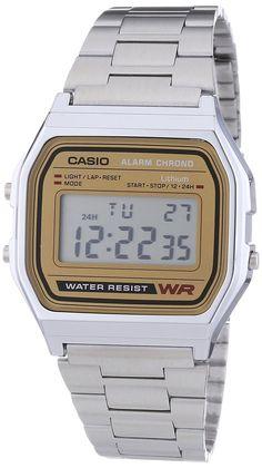 Casio A158WEA-9EF - Orologio da uomo: Casio: Amazon.it: Orologi