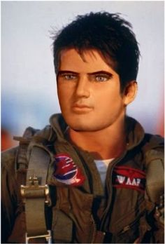 Tom Cruise's character in Top Gun was evidently based entirely on Captain Scarlet!