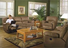 Sage green living room walls like the walls decor hate - Brown and green living room accessories ...