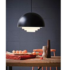 Design Belysning AS - Herstal Motown Pendel - Taklamper - Innebelysning Luminaire Suspension Design, Small Lamps, Interiors Online, Countertop Materials, Black Lamps, Motown, Home Decor Kitchen, Kitchen Ideas, Danish Design