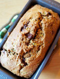 Zucchini Pumpkin Bread | tomatoboots.co | #fall #zucchini #pumpkin