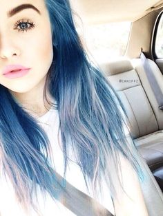 See more ideas about Hair, Dyed hair and Hair styles. Coloured Hair, Dye My Hair, Mermaid Hair, Gorgeous Hair, Pretty Hairstyles, Hair Hacks, Hair Goals, Her Hair, Hair Inspiration