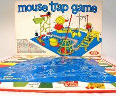vintage games | Vintage Board Game Mouse Trap | Flickr - Photo Sharing!