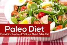 """Do you know that you can shed excess weight by eating more? """"Eat like your prehistoric ancestors and shed pounds"""". This is the slogan of the Paleo diet."""