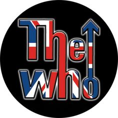Who Sticker, British Flag Logo ( x ), Who Sticker, Who Novelties, Who Merchandise The Who Band, Rock Band Logos, Rock Bands, Fred Perry Polo Shirts, Flag Logo, Circle Logos, Logo Sticker, Buick Logo, Stickers