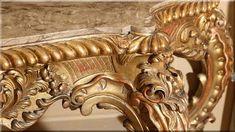 itáliai barokk fafaragás