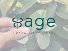 Custom logo design for Sage Herbal Apothecary.