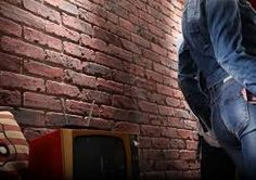 Image result for wall fake brick