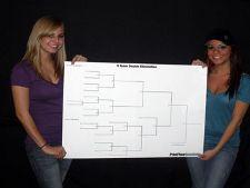 Printable Ping Pong Tournament Brackets Single & Double Elimination