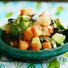 10 Summertime Salsas To Try:Cucumber-mango? Nectarine-basil? Take advantage of the season's freshest ingredients with these creative combos.