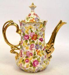 Chintz Coffee Pot