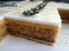 Fast drier hazelnut dessert, suitable among bridal in this warm . - A fast, dry hazelnut dessert suitable for weddings in this warm weather when the stuffing is meltin - Baking Recipes, Cookie Recipes, Dessert Recipes, Pie Cake, No Bake Cake, Czech Recipes, Dessert Bars, Christmas Baking, Sweet Recipes