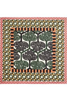 MARNI Printed Silk Scarf
