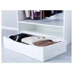 SKUBB kutu beyaz 93x55x19 cm | IKEA Ardiye Alanları