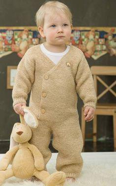 Vauvan neulehaalari neulottu Wool tai Nalle-lankaa