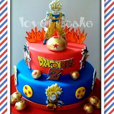 DragonBallZCakejpg Birthday cakes Pinterest Dragon ball