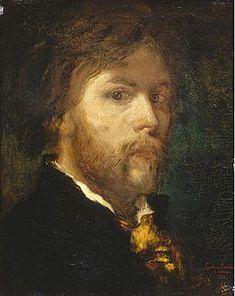 Gustave Moreau Autoportrait (1850) Paris, Musée Gustave-Moreau02.jpg
