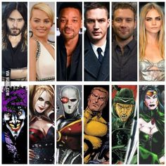their Suicide Squad cast lineup
