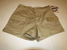 Mens Sportif USA style 670170 ESPA plus Stretch 34 khaki shorts casual NWT @ #SportifUSA #CasualShorts
