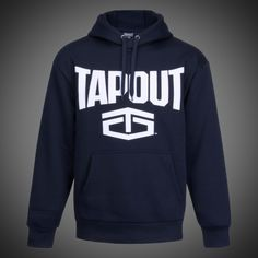 119844e6d80 Pánská mikina Tapout new logo navy s kapucí. Klokaní kapsa