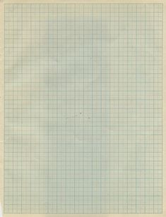 Old graph paper.