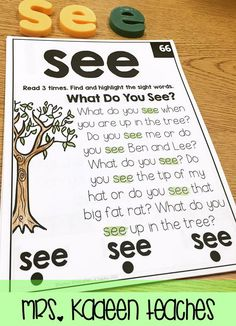 Sight word fluency has never been this easy. 100 sight word fluency readers.