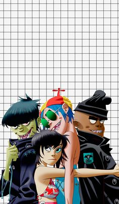 Gorillaz | Wallpaper