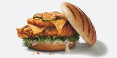 KFC's new Dirty Louisiana burger has a hash brown in it. Filthy.