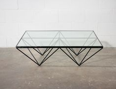 "Paolo Piva (attr) ""ALANDA"" Pyramid Table for B Italia: Amsterdam Modern"