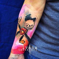 Kid art tattoo by Ivana tattoo art