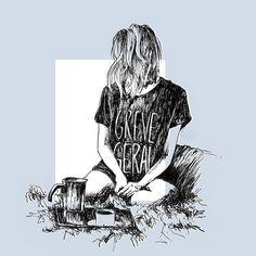 """""""Greve geral"""" da super @miladelaguila  Disponível aqui http://ift.tt/2wxl8me em camiseta moletom e almofada #artetododia #movidoapessoasincriveis"""