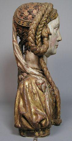 Reliquary Bust of Saint Balbina ca. 1520–30
