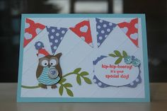 Julie's Japes - A Top Independent Stampin' Up! Demonstrator in the UK: Owl Punch