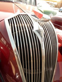 Hudson 8 with great grill and hood ornament