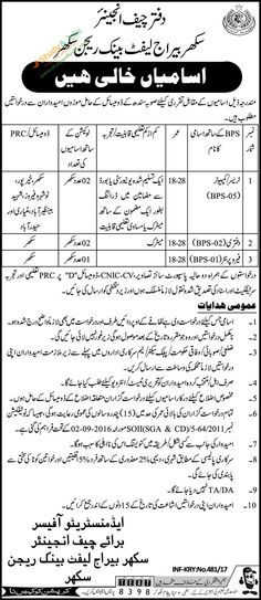 Punjab Education Foundation PEF 2017 Jobs Application Form - jobs that are left