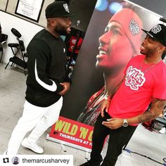 #Repost @themarcusharvey (@get_repost)  #TheBarberStars with another dope colab @Furioustyles  @TheMusaLair  #WildNOut #135th = EPICNESSESES LOL #WhyNotBeFresh