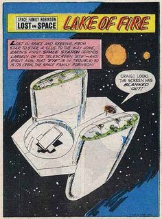 Space Station One -- Space Family Robinson: Lost In Space comic book from the 1960s/1970s